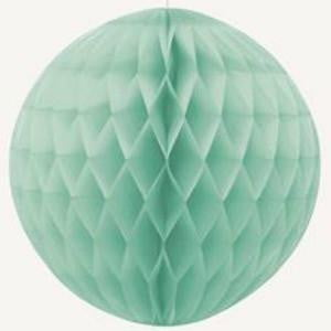 Unique | Mint Green Honeycomb Ball | Pastel Party Theme & Supplies