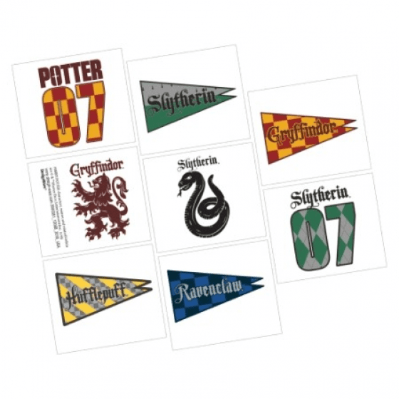 Amscan | Harry Potter Tattoos | Harry Potter Party Theme & Supplies |