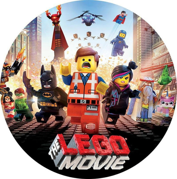 Lego Movie Edible Cake Decoration | Lego Party Supplies
