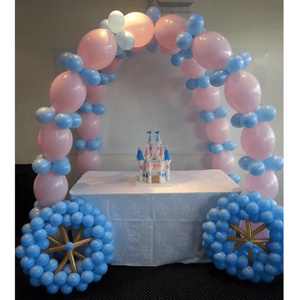 Balloon Princess Carriage | Princess Party Theme and Supplies