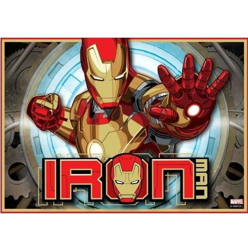 Iron Man Edible Cake Image A4 Size Build A Birthday