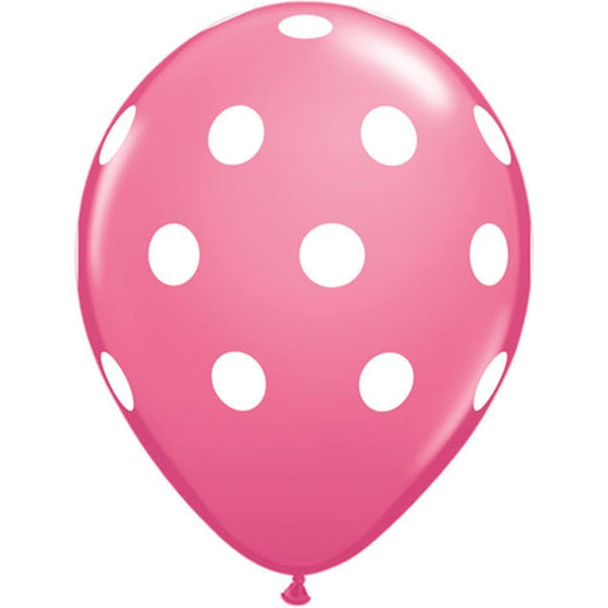 Pink Polka Dot Balloon | Kids Birthday Party Supplies