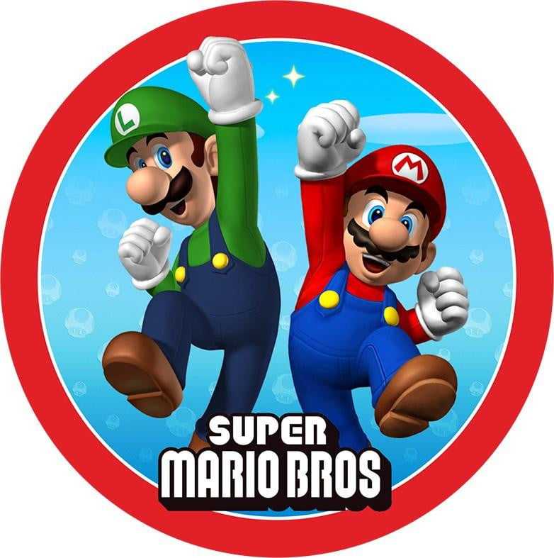 Buy Super Mario Party Supplies Online at Build a Birthday NZ