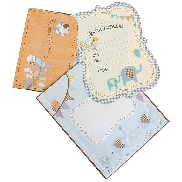 HiPP Special Delivery Baby Boy Invitation Kit