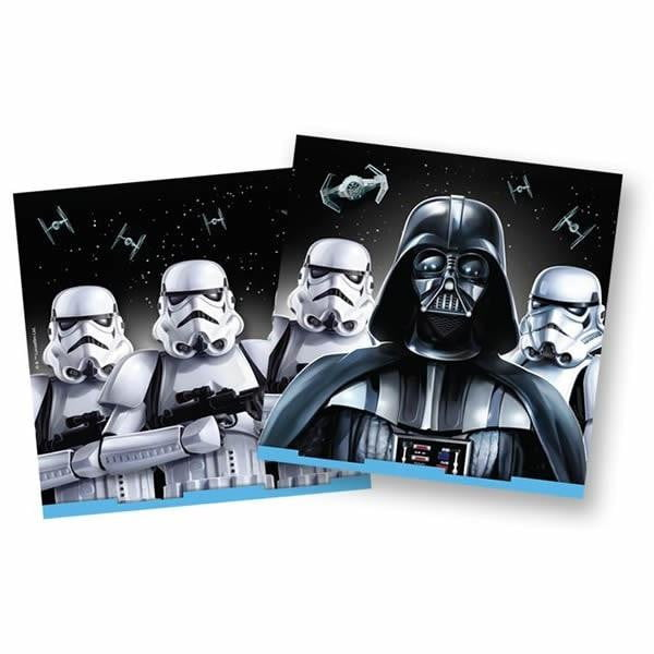 Disney | Star Wars Darth Vader Napkins - Lunch