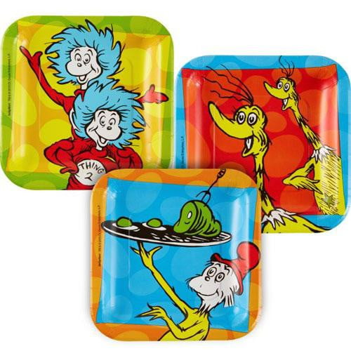 Dr Seuss Plates | Dr Seuss Party Supplies