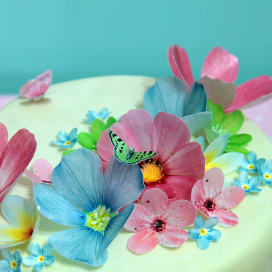 Edible Flower Decorations | Edible Decorations | Baking Supplies