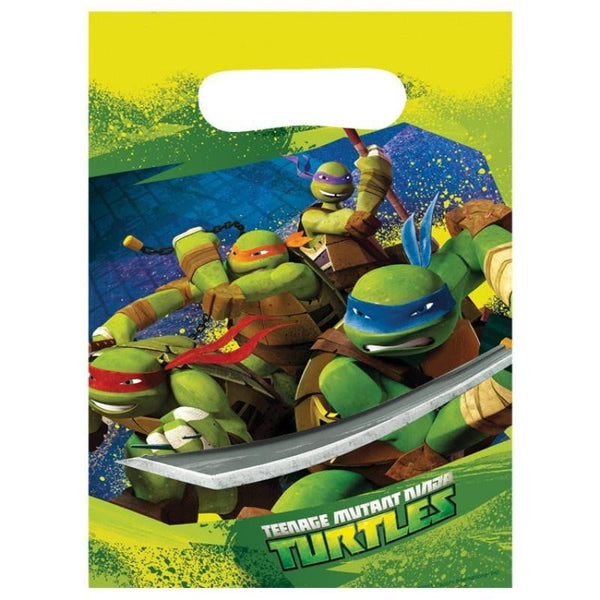 TMNT loot bags | Teenage Mutant Ninja Turtle Party Supplies