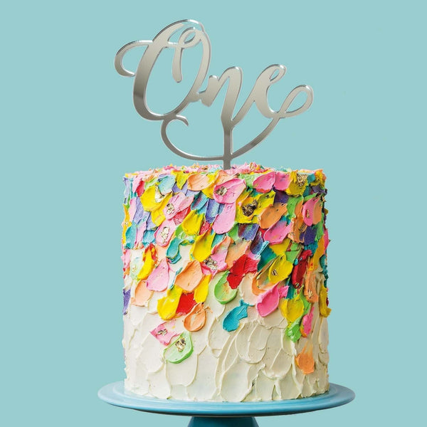 Sugar Crafty | One Script Cake Topper - Mirror