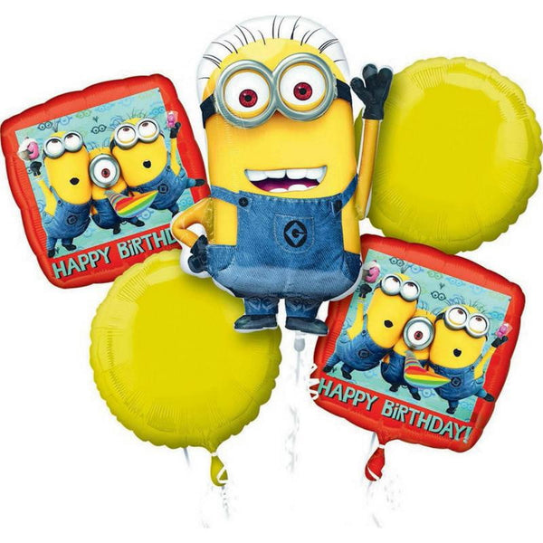 Minion Balloon Bouquet