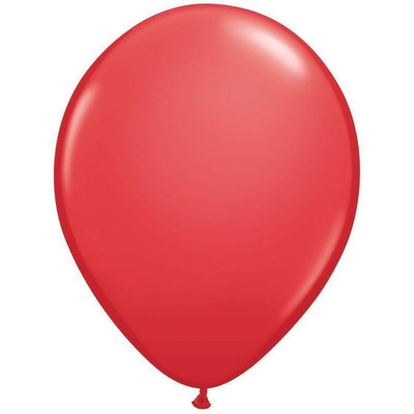 Qualatex | Standard Red Balloon | Red Party Supplies