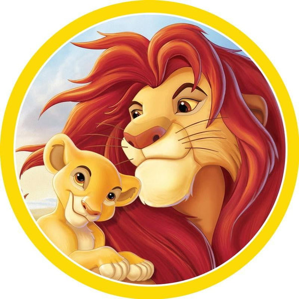 Lion King Simba Mufasa Edible Cake Topper | Lion King Party