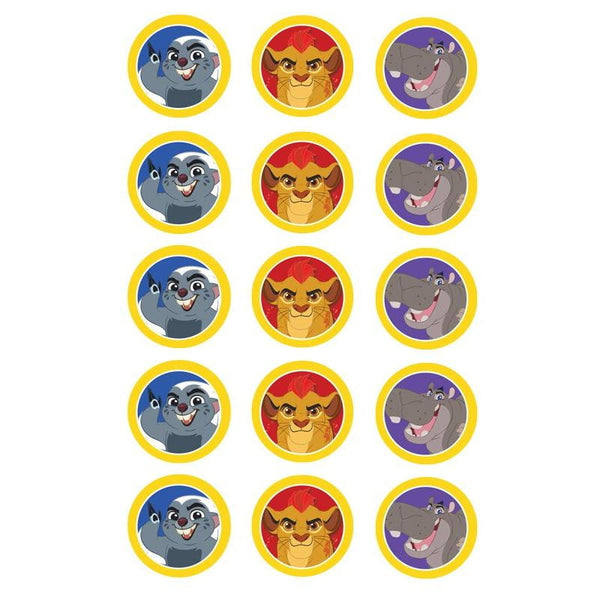 Lion Guard Edible Cupcake Toppers | Lion Guard Party