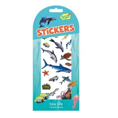 Peaceable Kingdom - Sea Life Stickers | Under the Sea Party Theme & Supplies