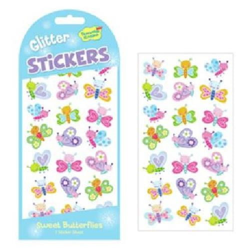 Peaceable Kingdom - Glitter & Foil Sweet Butterfly Stickers