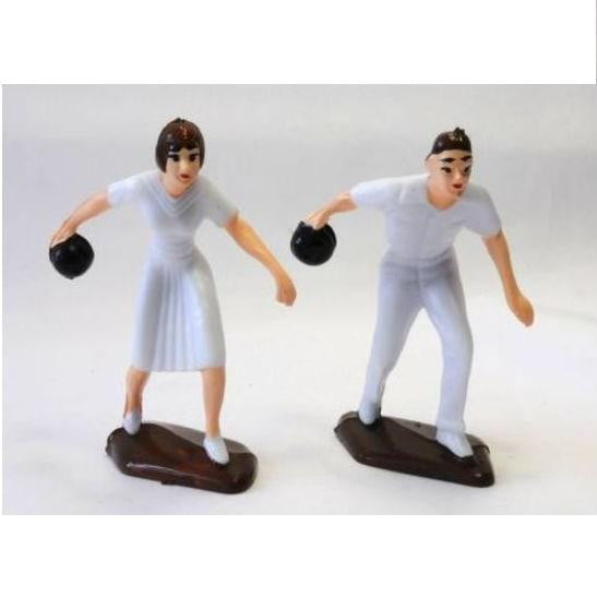 Starline | Lawn Bowls Pair Cake Toppers | Sports Party Theme & Supplies