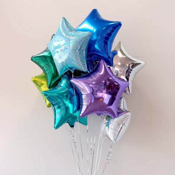 Mermaid Star Foil Bouquet