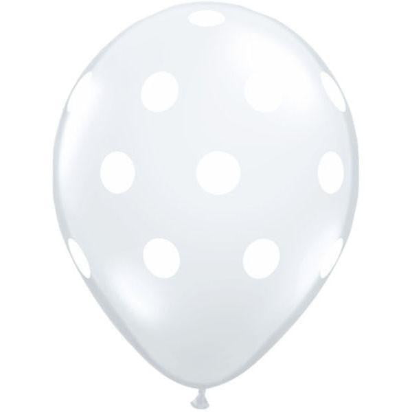 Clear Polka Dot Balloon