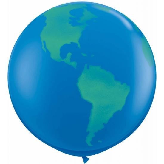 Giant Balloon - World Globe