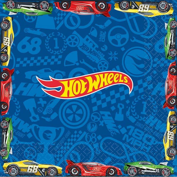 Amscan | Hot Wheels Wild Racer Napkins - Lunch