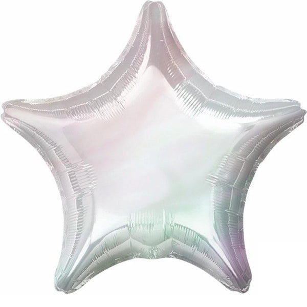 Anagram | Iridescent Holographic Star SuperShape Foil Balloon