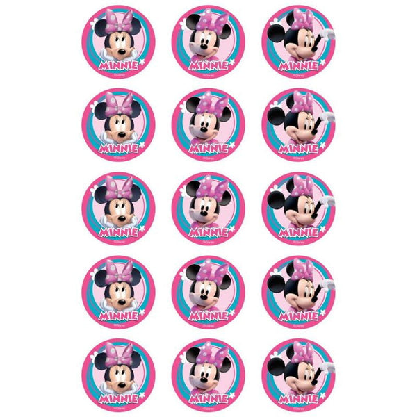 Minnie Mouse Edible Cupcake Images | Minnie Mouse Party Supplies