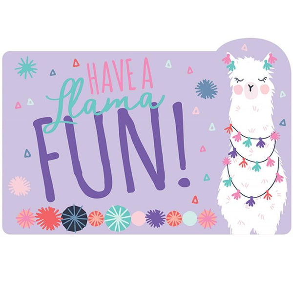 Amscan | Llama Fun Invitations | Llama Party Theme & Supplies