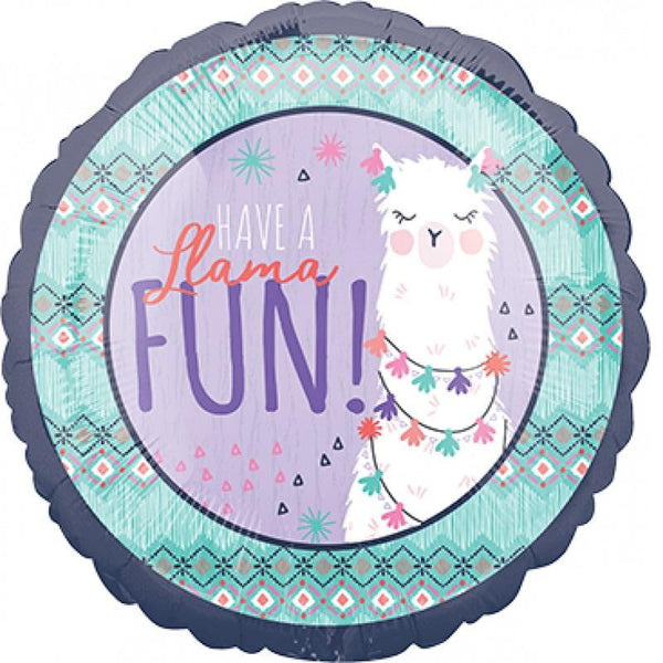 Anagram | Llama Fun Foil Balloon | Llama Party Theme & Supplies