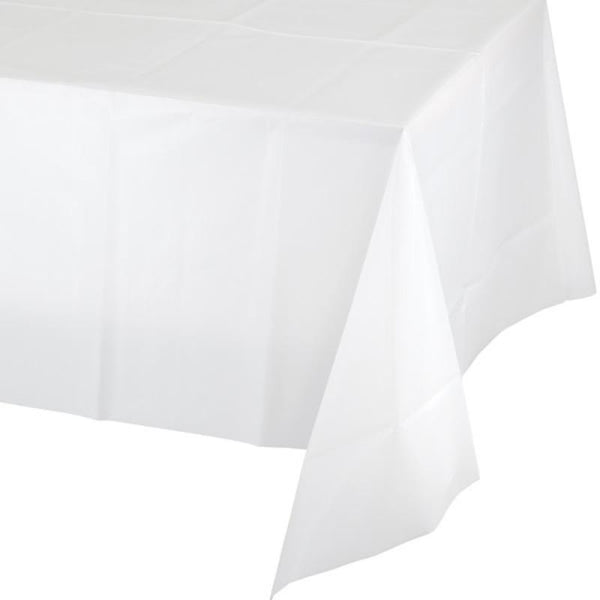 Bright White Tablecloth