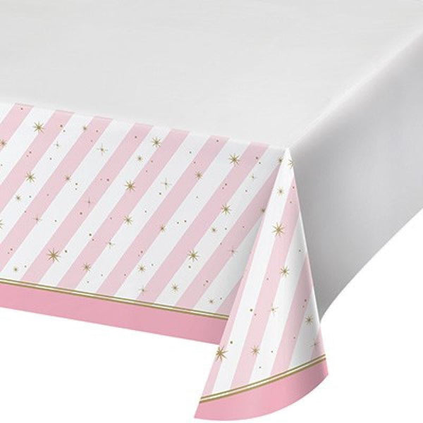 Amscan | Twinkle Toes Tablecover | Ballet Party Theme & Supplies