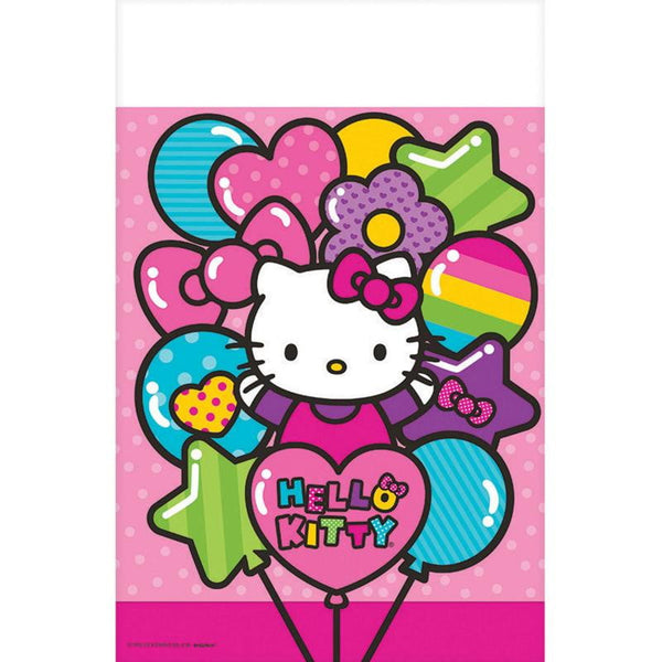 Amscan | Hello Kitty Rainbow Tablecover | Hello Kitty Party Theme & Supplies