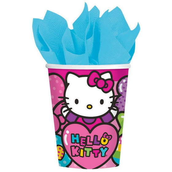 Amscan | Hello Kitty Rainbow Cups | Hello Kitty Party Theme & Supplies