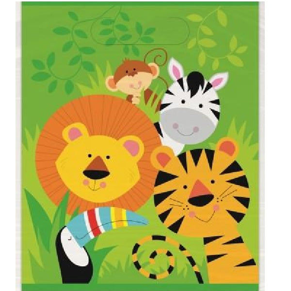 Jungle Animals Loot Bags | Jungle Animals Party Theme & Supplies