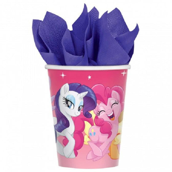 Amscan | My Little Pony Friendship Adventure Cups | My Little Pony Party Theme & Supplies |
