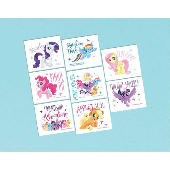 Amscan | My Little Pony Friendship Adventure Tattoos | My Little Pony Party Theme & Supplies |