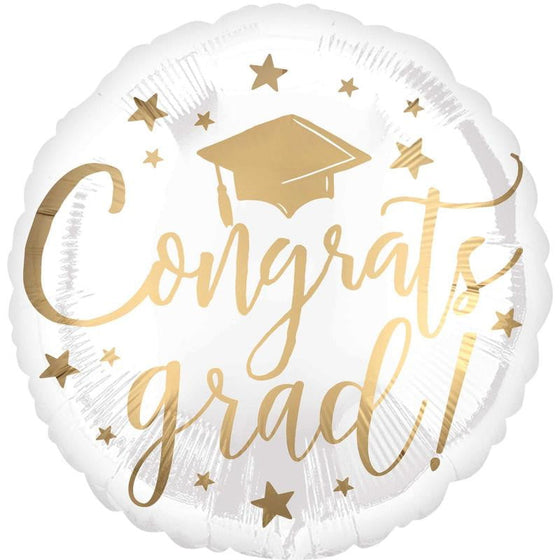 Congrats Grad Balloon | Graduation Party Supplies