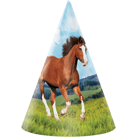 Amscan | Horse and Pony Party Hats | Horse and Pony Party Theme & Supplies |