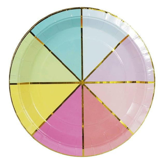 Sunday | Colour Wheel Plates | Colour Wheel | Party and Theme Supplies