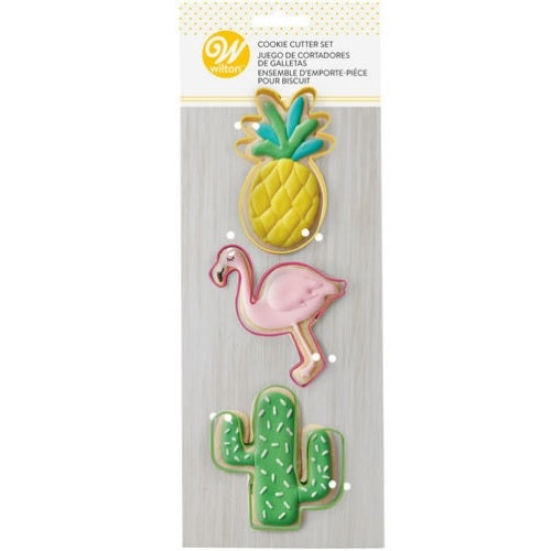 Wilton Tropical Cookie Cutter Set