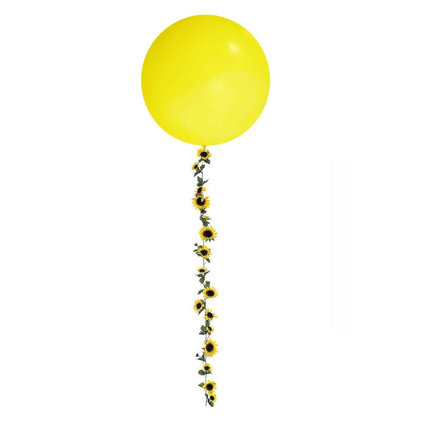 Floral Balloon Tail | Sunflower Balloon Tail