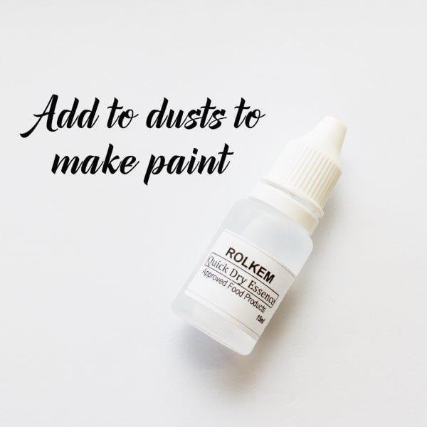 Rolkem | Quick Dry Essence | Edible Glitter