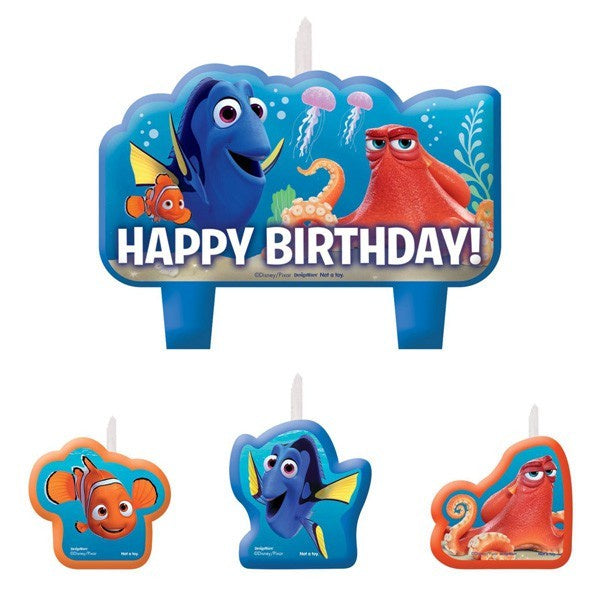 Finding Dory Birthday Candles | Finding Dory Party Supplies