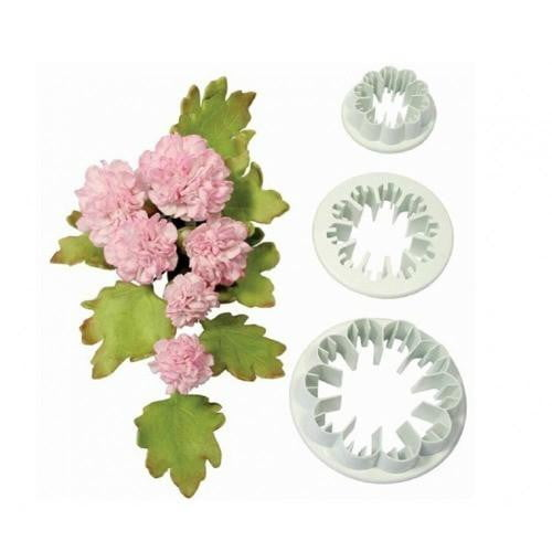 Carnation Fondant Cutter Set