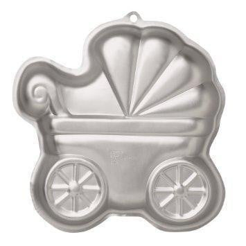 Wilton | Baby Buggy Cake Tin Hire | Baby Shower Party Theme & Supplies
