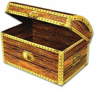 pirate party | pirate chest