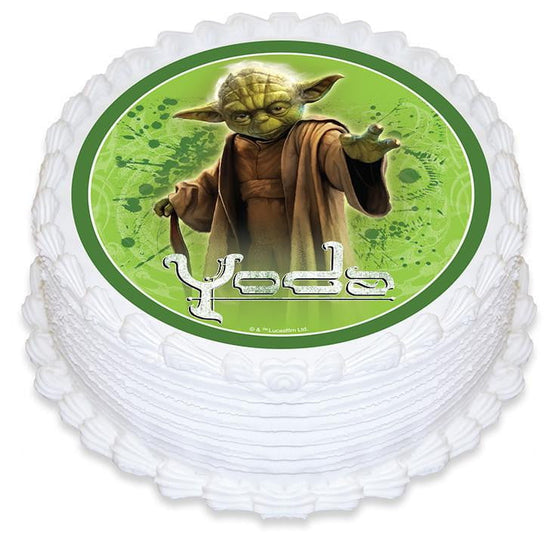 Star Wars Cake Topper | Yoda Cake Topper | Star Wars Party