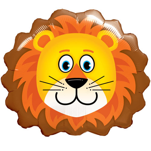 Lion Balloon | Jungle Animal Party Theme and Supplies