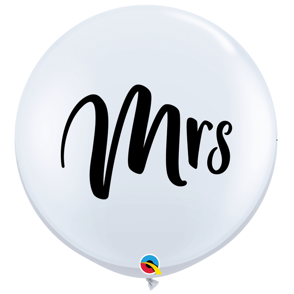 Mrs Jumbo Balloon | Wedding Balloons | Wedding Decorations
