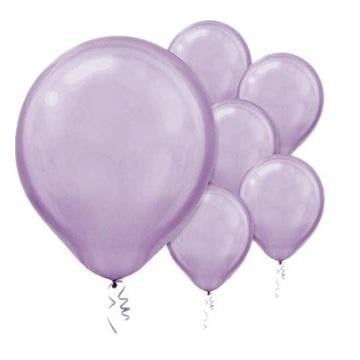 Amscan | Value Balloons Pack of 15 - Pearl Lavender