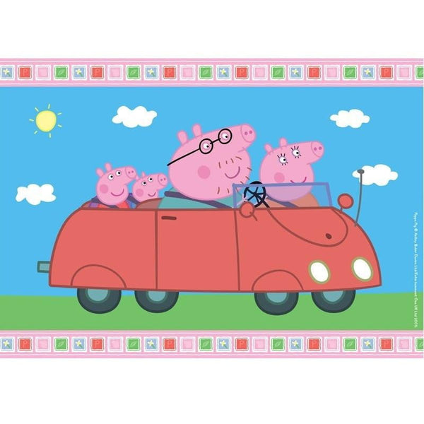 Peppa Pig Edible Cake Image - A4 Size